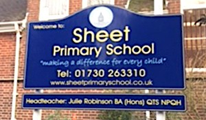 Sheet Primary School Sign