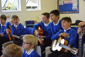 Year 5 Musicians Recording