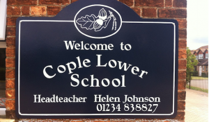 cople-lower-school-sign-bedford