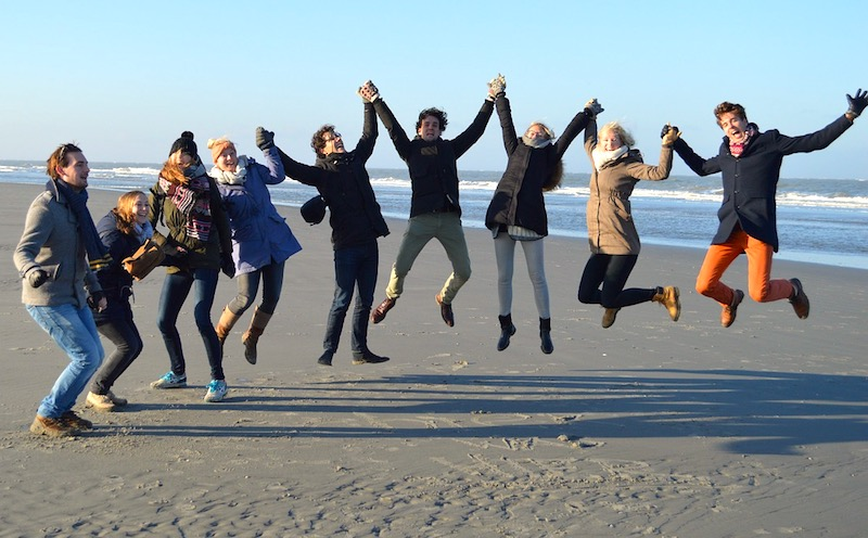 Teachers jump for joy!