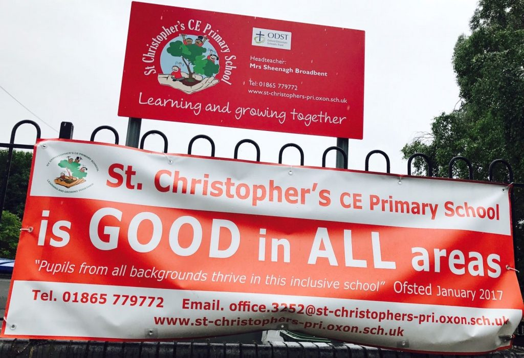 St Christophers awarded Good in All Areas in Ofsted Report 2017