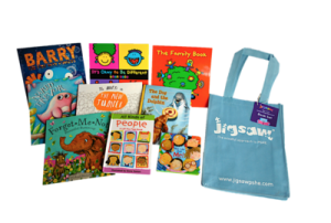 Early Years Book Bag for Celebrating Difference