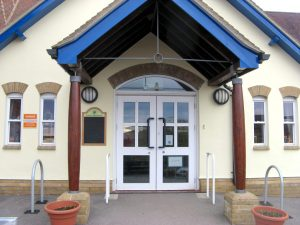 sixpenny school-entrance
