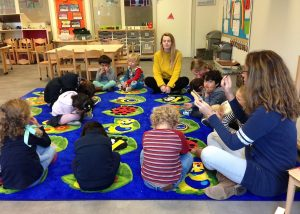 Early Years children in a Calm Me Time
