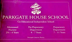 Parkgate House school sign