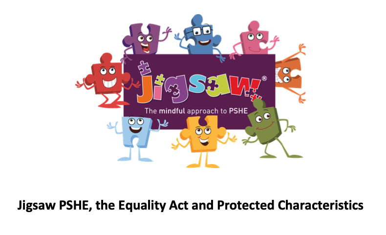 Jigsaw PSHE covers the Equality Act and Protected Characteristics